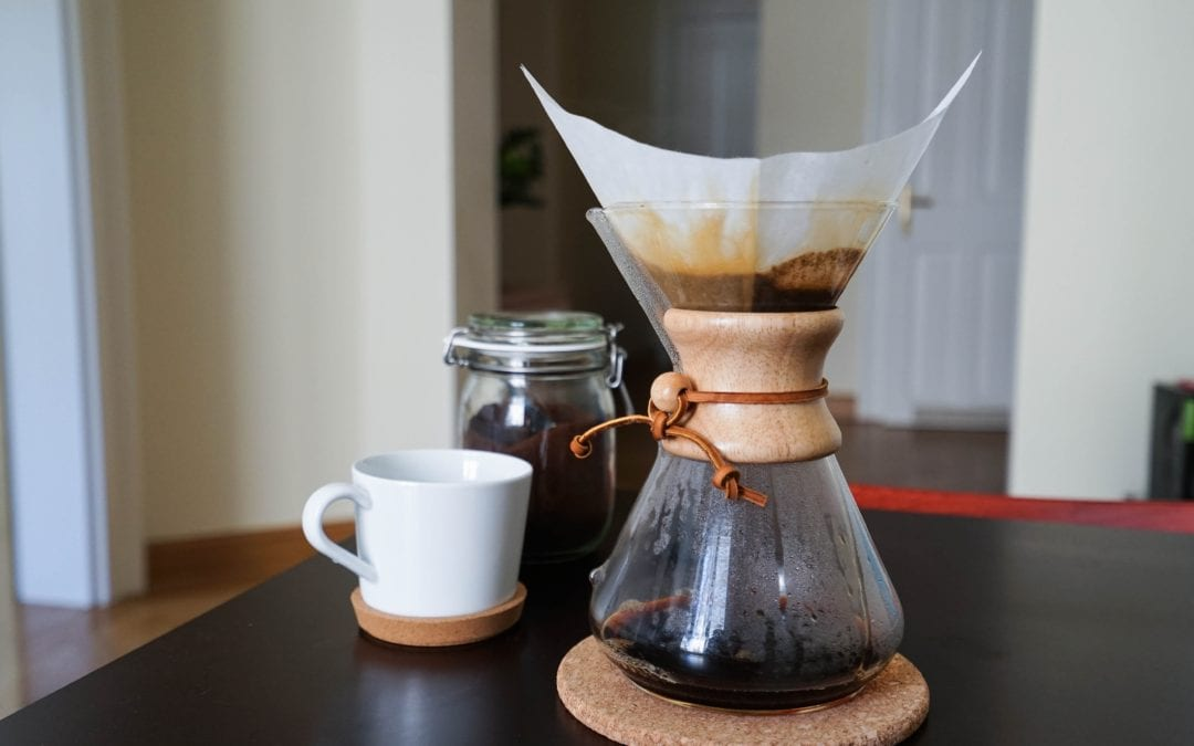 And Before the Coffee is Fully Brewed…